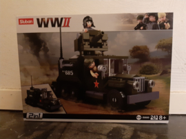 Sluban  WWII  allied half  M38-80685#16123
