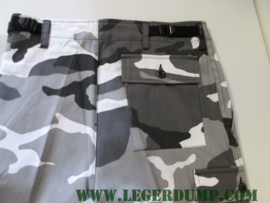 Camouflage broek Urban wit
