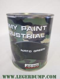 Blik legerverf NATO green
