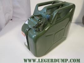 Jerrycan metaal inhoud 10 liter
