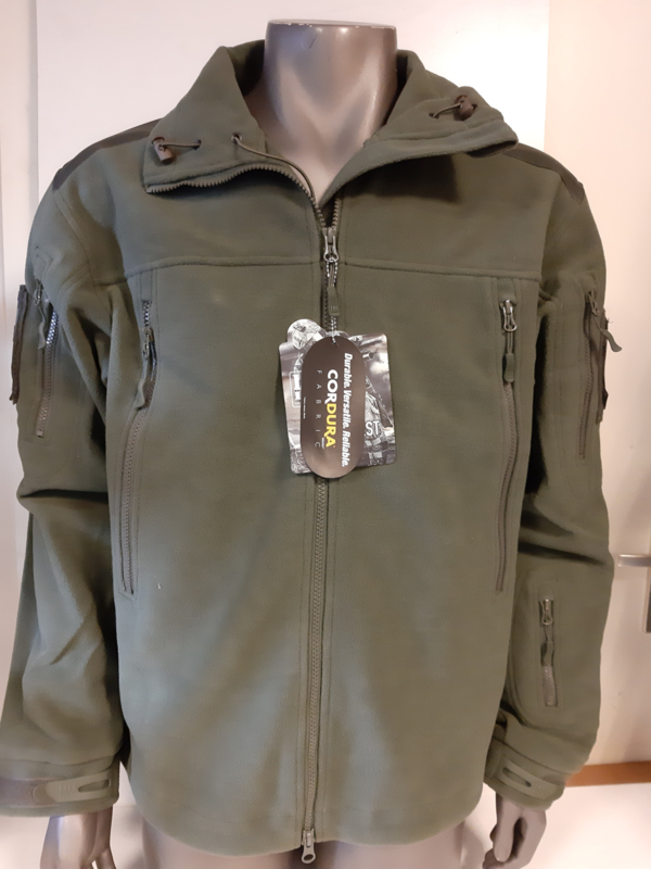 Heavy duty fleece vest