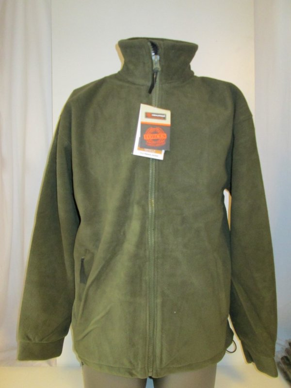Fleece jacket olive