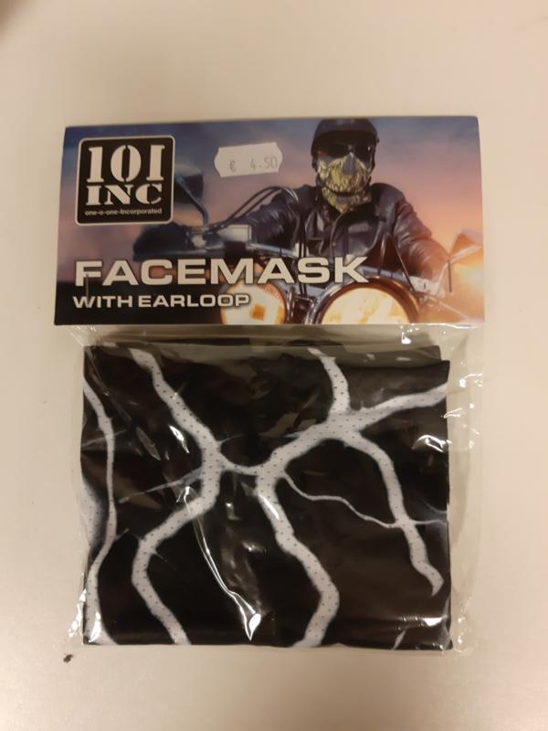 gezichtsmasker met oorlus marmer