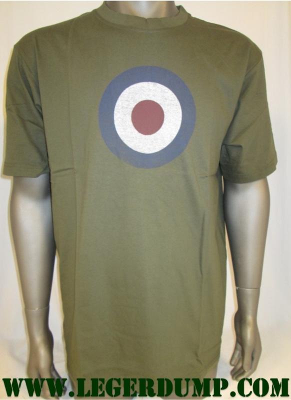 T-shirt groen RAF