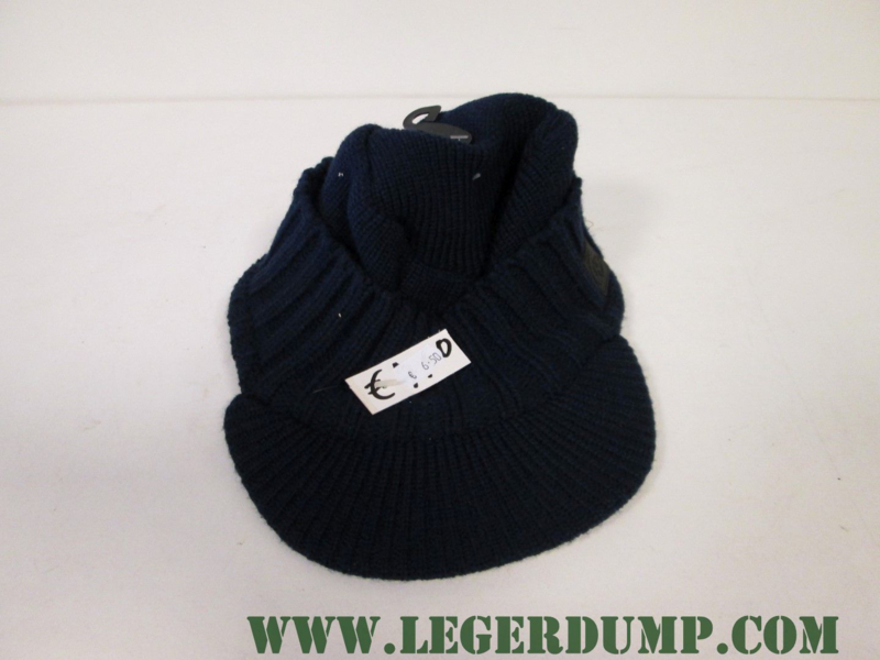 Jeepcap onesize blauw 100% acryl