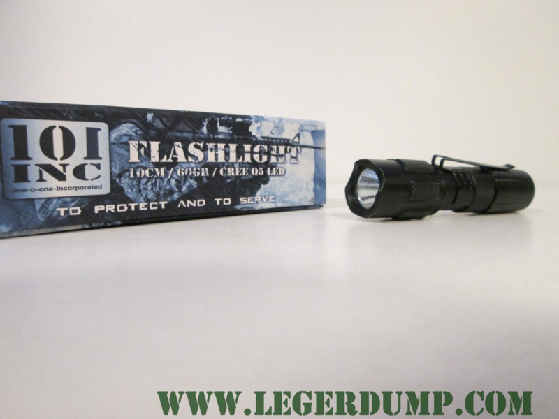 101 INC flashlight 10 cm / 60 gr.