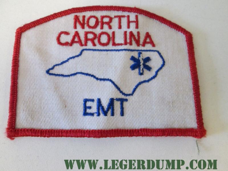 Opnaai embleem North Carlina EMT