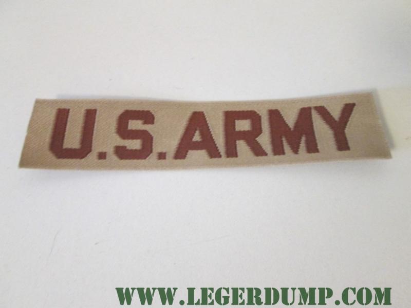 Opnaai embleem U.S. Army