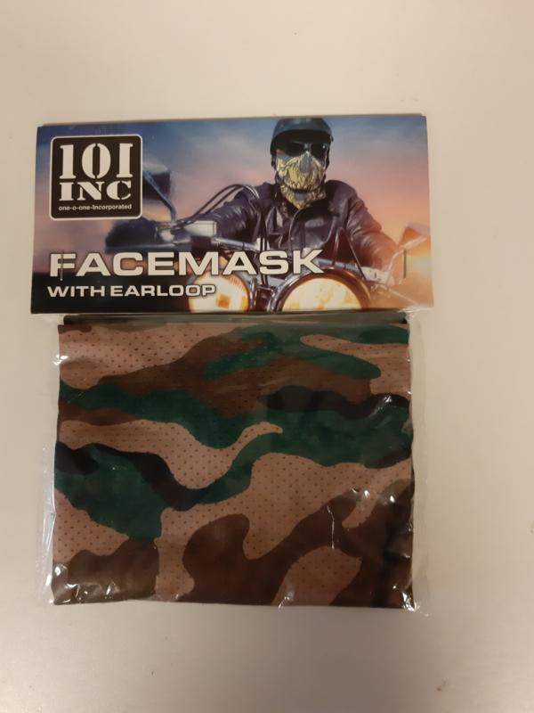 gezichtsmasker met oorlus