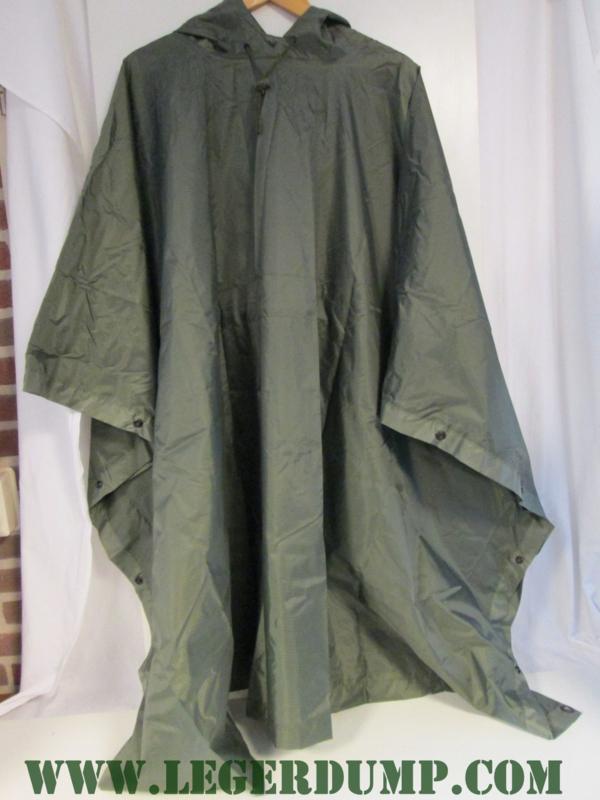 Poncho ripstop groen 150 x 220 cm