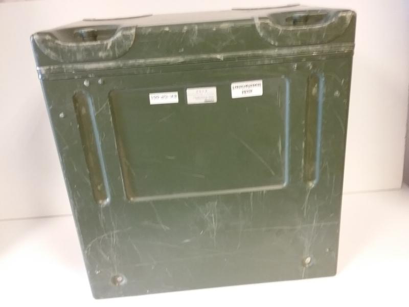 Aluminium leger kist