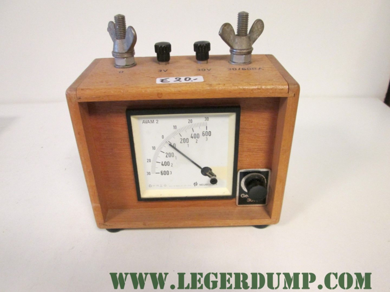 Amperemeter-Voltmeter AVAM 2 - Neuberger, Josef uit München