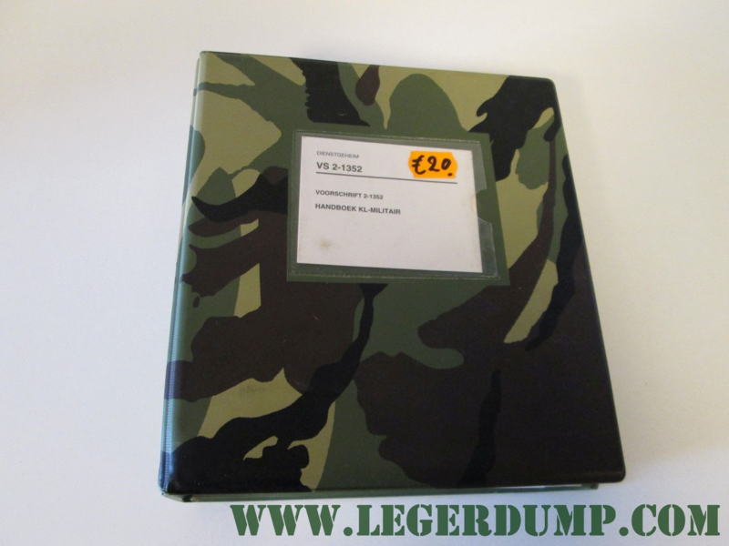 VS 2-1352 Handboek KL-Militair
