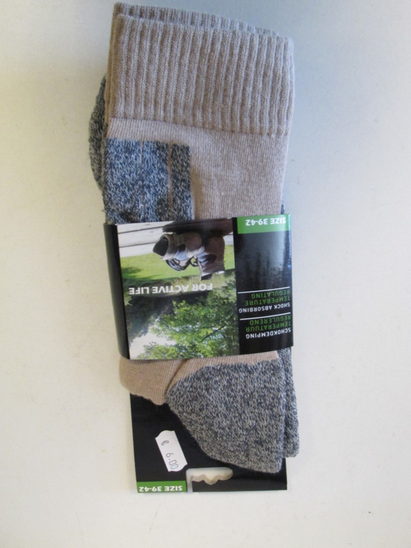 Outdoor sock  beige