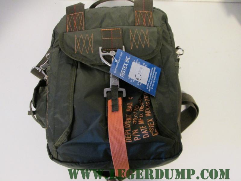 Parachute tas groen 4 kaart tas