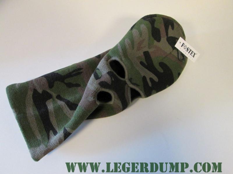Bivakmuts camouflage 3 gaats