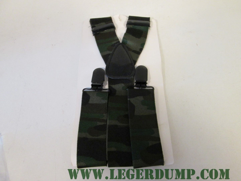 Bretels camouflage Fosco