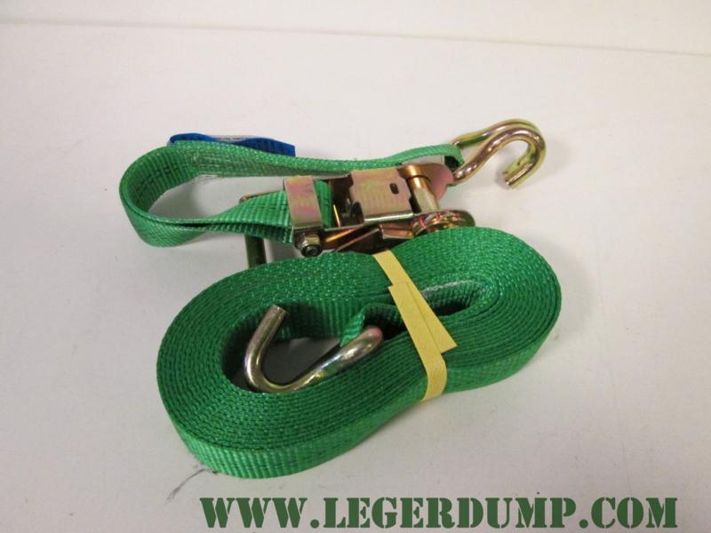 Spanband groen 3,5 cm breed