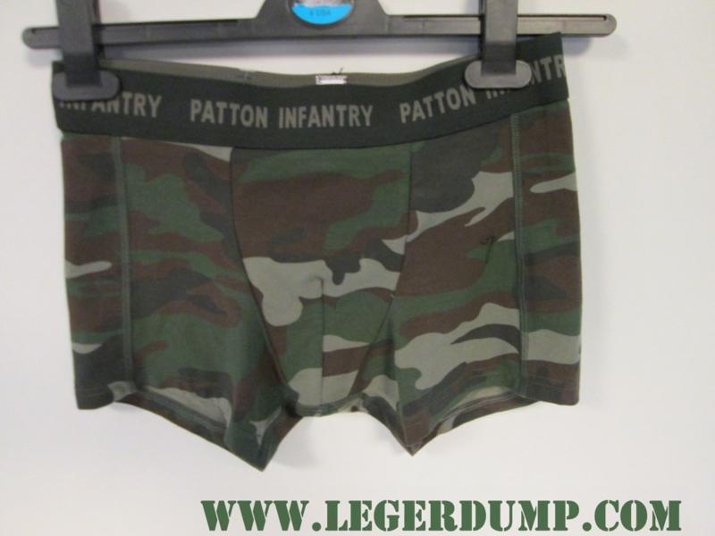 Boxershort merk Patton camouflage
