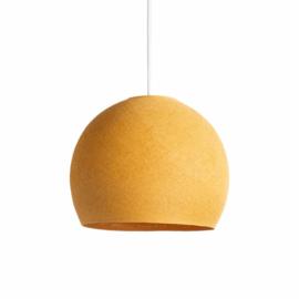 Okergele hanglamp halve bol