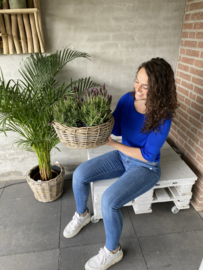 Plantenschaal rotan- waterdicht