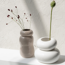 Handgemaakte plantenpotten balans