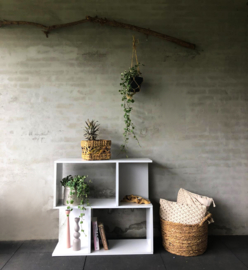 Open kast decoratie