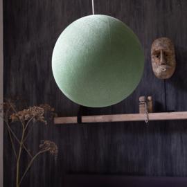 Hanglamp rond lichtgroen