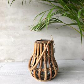 Lantaarn hout klein 18x24