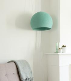 Aqua groene lamp halve bol