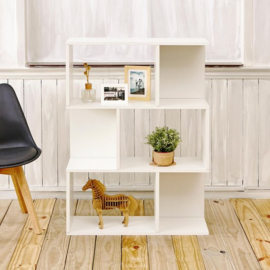 Duurzame moderne decoratie kast- wit