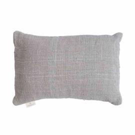 Handgemaakt rechthoekige kussenhoes- grijs 40x60
