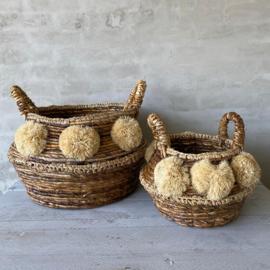 Decoratieve manden- groot/klein