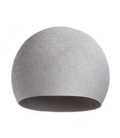 Hanglamp halve bol- grijs