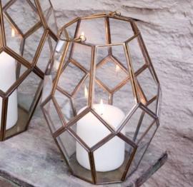 Glazen decoratie lantaarn