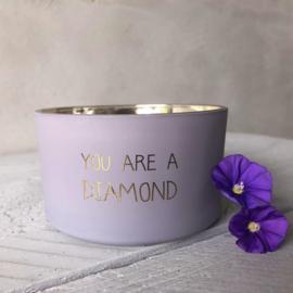 Biologische kaars- diamond