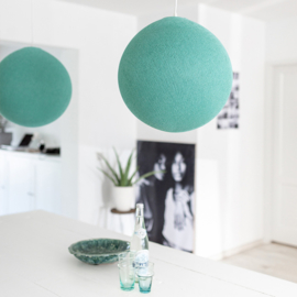Aqua groene hanglamp