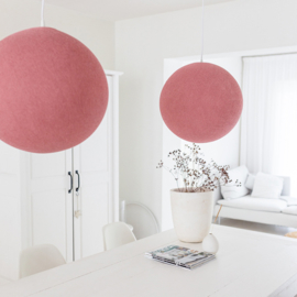 Hanglamp rond warm roze