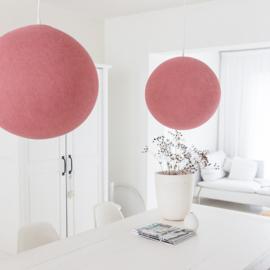 Hanglamp rond warm roze
