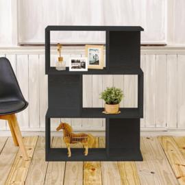 Duurzame moderne decoratie kast- zwart