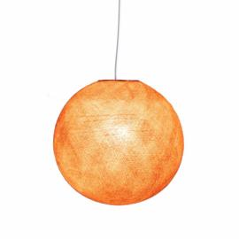 Oud roze plafondlamp- bol