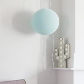 Baby blauwe hanglamp