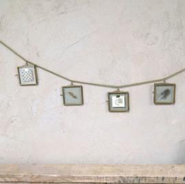 Decoratie slinger fotolijstjes