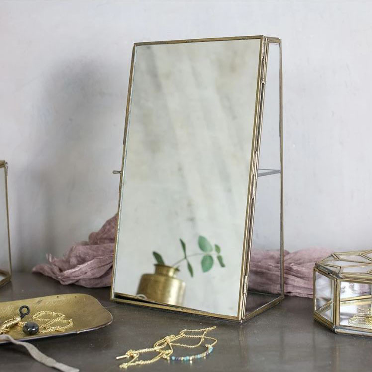 Sieradenkastje met spiegel