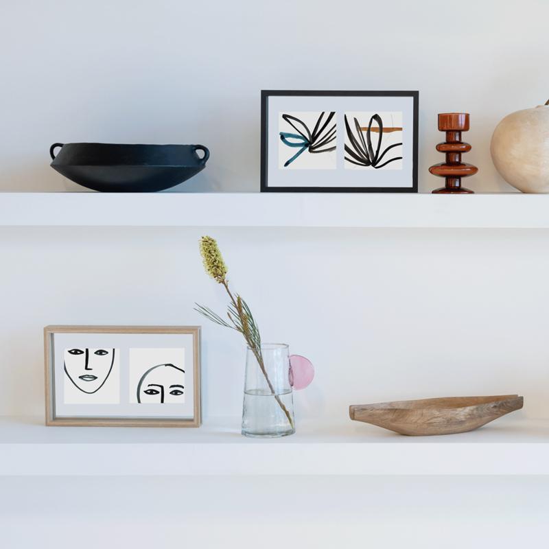 Decoratie set- fotolijstjes