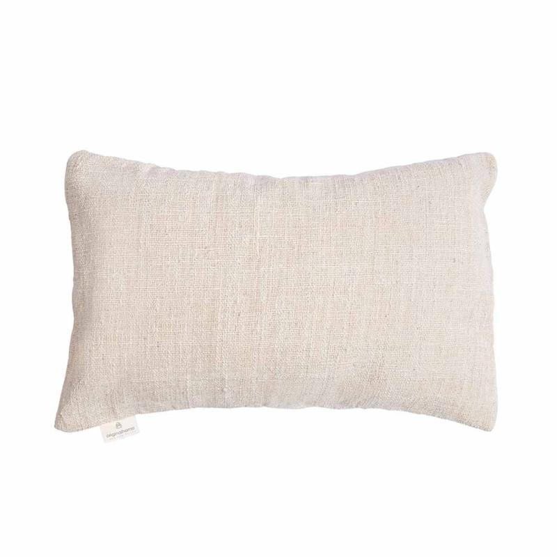 Handgemaakt rechthoekige kussenhoes- Off white 40x60
