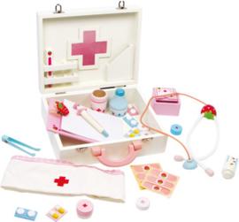 Houten dokterskoffer