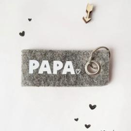 Sleutelhanger 'papa'