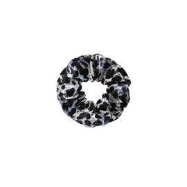 Sweet leopard velvet - scrunchie