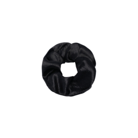 Sweet as satin - scrunchie zwart